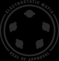 Electrostatic mafia seal - biała/kolor