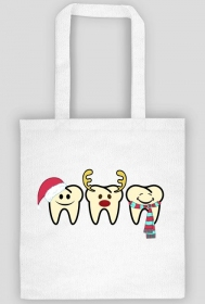 Christmas teeth torba