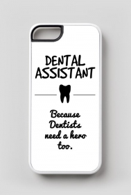 Dental assistant. Etui iPhone 5/5s