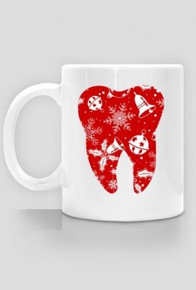 Christmas tooth kubek