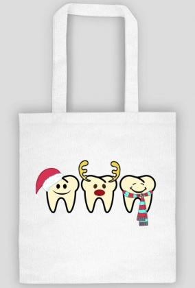 Christmas teeth torba