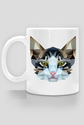 Kubek Kot Cat Kot Geometryczny Kubki W Lunarart