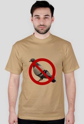 Koszulka anty gołąb.