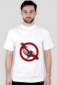 T-shirt anty gołąb.