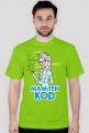 GeekWear - Elsa, Kraina Lodu, Frozen, mam ten kod, mam tę moc, informatyka -koszulka męska