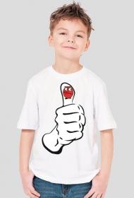 """koszulka """" kciuk"""""""
