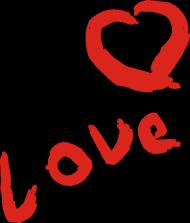 "poduszka ""love"""