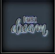 Przypinka - I have a dream