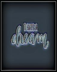 Podkładka pod mysz - I have a dream