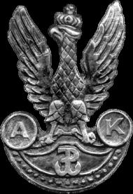 Orzeł AK - bluza damska z suwakiem