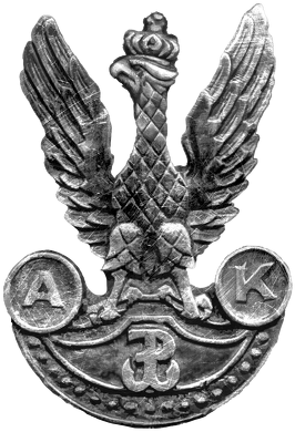 Orzeł AK - bluza męska z suwakiem