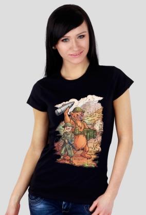Niedźwiedź Wojtek - koszulka czarna