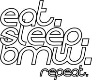 Eat Sleep BMW v4 (t-shirt) light image