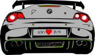Ich liebe Z4 (hoodie)