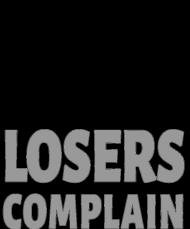 Winners Train Losers Complain v2 (t-shirt) dark image