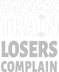 Winners Train Losers Complain v2 (t-shirt) light image