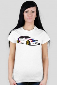 BMW M3 W0 Aggie UnSafety Car (woman t-shirt) dark image