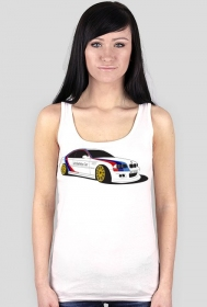 BMW M3 W0 Aggie UnSafety Car (woman boxer t-shirt) dark image
