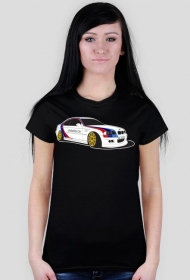 BMW M3 W0 Aggie UnSafety Car (woman t-shirt) light image