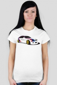 BMW M3 UnSafety Car (woman t-shirt) dark image