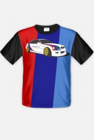 BMW M3 UnSafety Car (fullprint t-shirt)