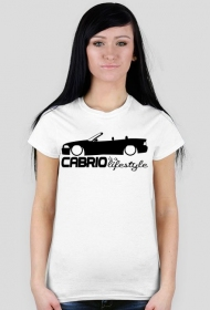 Cabrio Lifestyle - E36 (woman t-shirt) dark image
