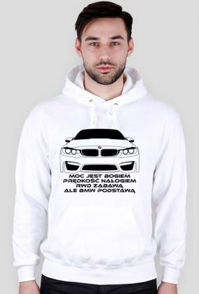 BMW podstawą (bluza z kapturem) ciemna grafika