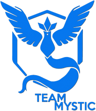 Team Mystic - Black/White