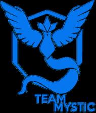 SMALL Team Mystic - Black/White
