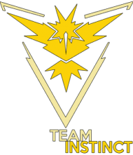 SMALL Team Instinct - Black/White
