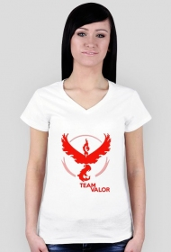 Team Valor Woman - Black/White