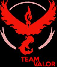 Team Valor Woman - Black/White