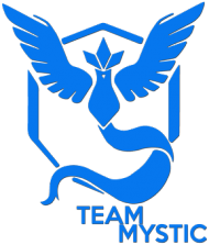 SMALL Team Mystic Woman - Black/White