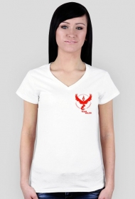 SMALL Team Valor Woman - Black/White