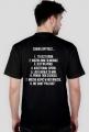 """Koszulka z """"ośmioma przykazaniami"""" - czarna"""