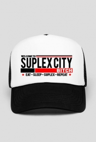 SUPLEX CITY BITCH - CZAPKA BY WRESTLEHAWK