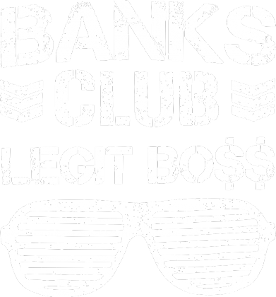 Banks Club Legit Boss - KOSZULKA BY WRESTLEHAWK