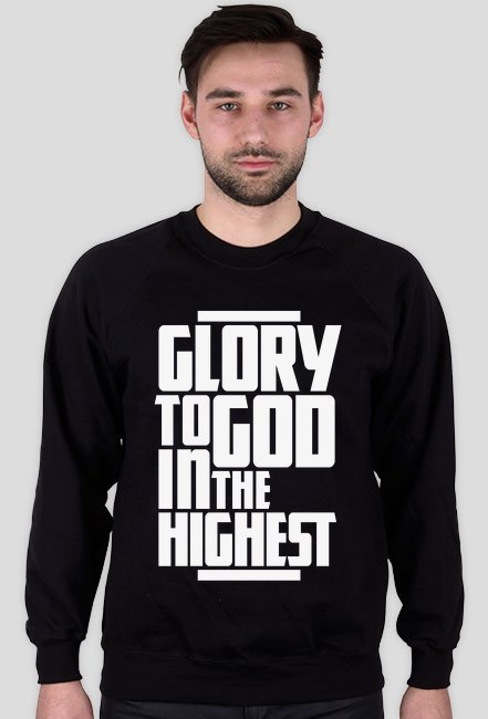 Glory to God - bluza męska