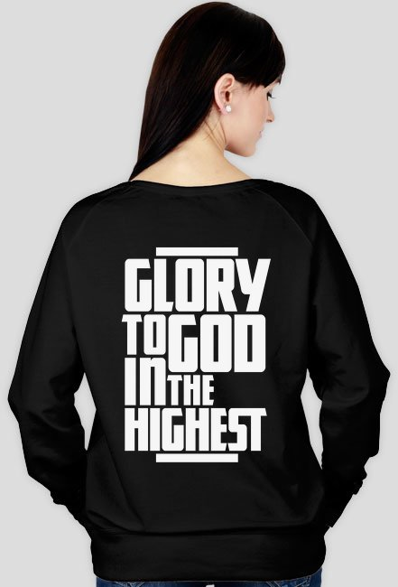 Glory to God - bluza damska