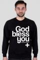 God Bless You / bluza męska
