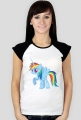 t-shirt rainbow dash