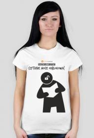 Koszulka damska PiktoGrafiki - Czytanie może odblokować