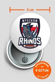 Rhinos Classic Przypinka I