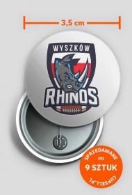 Rhinos Classic Przypinka II