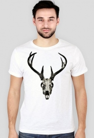 Slim T-shirt - deer skull vol. 4