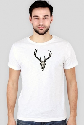 Slim T-shirt - deer skull vol. 2