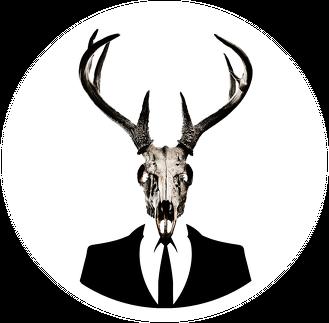 Hoodie #1 - deer skull vol. 1
