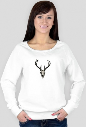 Sweatshirt - deer skull vol. 2