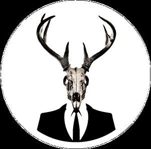 Hoodie #2 - deer skull vol. 1
