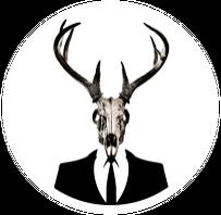 V-string - deer skull vol. 1 (front logo)
